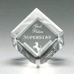 Corporate Crystal Cube Achievement Awards