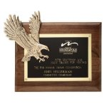Soaring Eagle Plaque Employee Awards