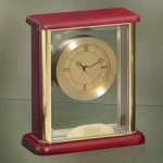 Glass Box Clock Executive Gift Awards