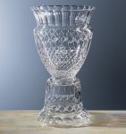 Honors Pedestal Trophy Glass | Crystal Cup Trophies