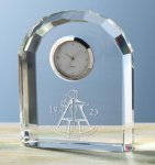 Faceted Arch Clock Sales Awards