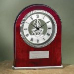 Arch Clock with Exposed Gears in Chrome Sales Awards