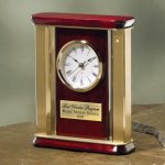 Large Brass and Wood Secretary Gift Awards